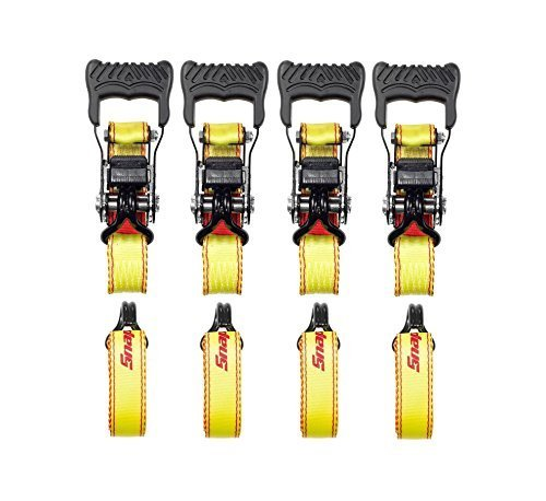 Licensed Tie - Ratchet Tie Downs (4 pk.) by Snap-on (Official Licensed Product)