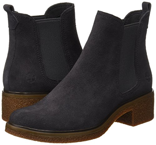 dark Double on Femme Chukka Chelsea Timberland Bottes Suede Grey Gore Pull Brinda Gris awCXxwvnUq