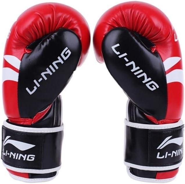 手袋、ボクシンググローブ、大人の格闘技三田格闘手袋、ムエタイ格闘技、プロのトレーニング競技土嚢 赤 10oz