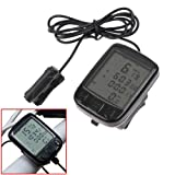 DcolorBike Bicycle Cycling Sports LCD Computer Odometer Speedometer