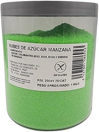 Algodón Nubes de Azúcar Manzana 1 Kg: Amazon.es: Alimentación y ...