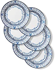 Corelle 1137567 Style Collection Dinner Plates, 6-Piece, Portofino