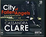 download ebook city of fallen angels by cassandra clare unabridged cd audiobook (the mortal instruments, book 4) pdf epub