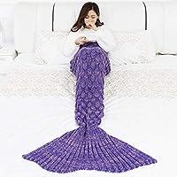 YOWAO Coperta di Sirene, Utilizzabile Come Coperta sul sofà