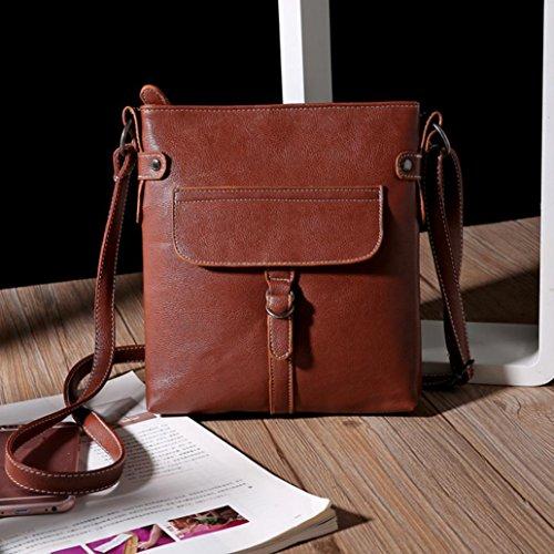Handbag Familizo Bag Messenger Handbag Ladies Shoulder Coffee Cross Leather Satchel Body RPwRpaqn