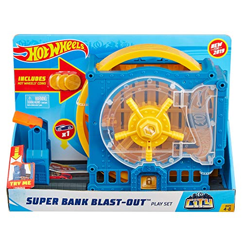 Hot Wheels City Super Spin Dealership ()
