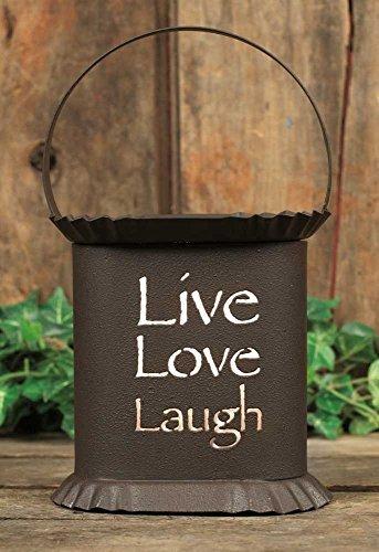 Oval Wax Warmer - Live Laugh Love