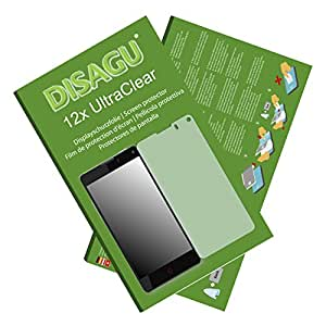 12x Ultra Clear Screen Protector for ZTE Nubia Z5S Mini LTE