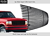 #5: APS Fits 1992-1996 Ford Bronco/F-150/F-250/F-350 Stainless Black Billet Grille Grill #F85007J