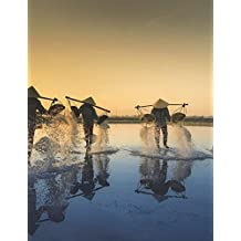 Vietnam Notebook Large Size 8.5 x 11 Ruled 150 pages Softcover