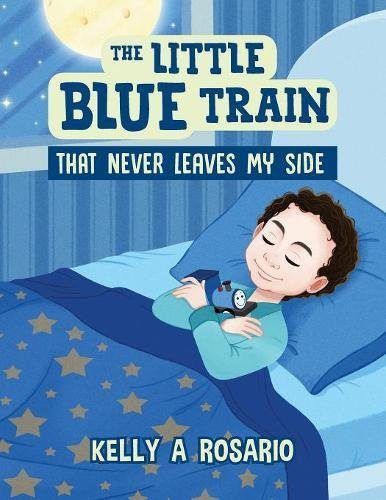 The Little Blue Train That Never Leaves My Side Side Leaf