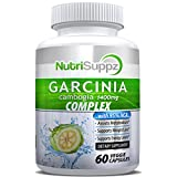 100% Pure Garcinia Cambogia Complex | 95% HCA Weight Loss Pills | Elite Diet Supplement For Women And Men | Supports Fast Weight Loss and Curbs Appetite | 1400mg - 60 Count