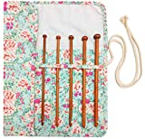 Tunisian Crochet Hooks Set Afghan Crochet Hook Tunisian Crochet Needles Bamboo 3 3.5 4 4.5 5 5.5 6 6.5 7 8 9 10
