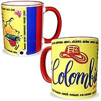 Gio Gifts Colombia Souvenir Coffee/Tea Cup Mug 11 Oz. Collectible Gift