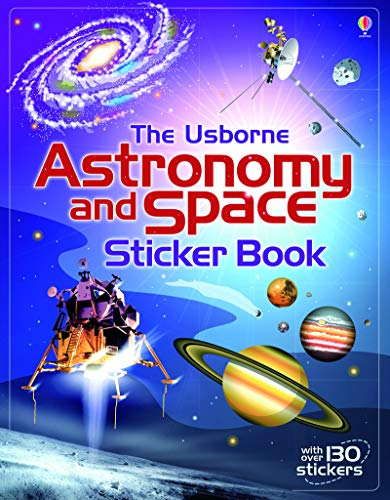 Astronomy Sticker - Astronomy and space sticker book