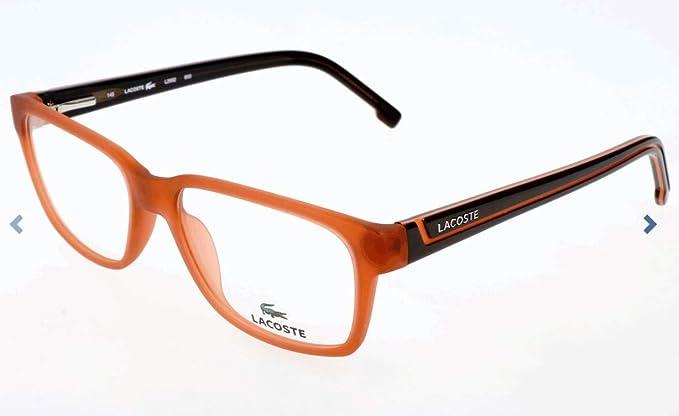 bf708e96a1 Lacoste Brillengestelle L2692 Monturas de Gafas, Naranja (Orange), 54.0  Unisex Adulto: Amazon.es: Ropa y accesorios