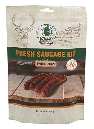 Valley Sportsman Fresh Sausage Seasoning Kit, Sweet Italian, 16 Ounce - Italian Beef Kit