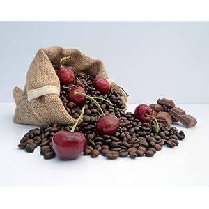 Caffè aromatizzato cioccolato e ciliegia, Caffettiera, 200 g