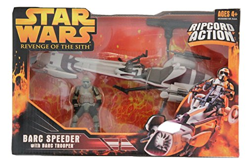 Hasbro Star Wars Episode 3 Barc Speeder withBarc Trooper ()