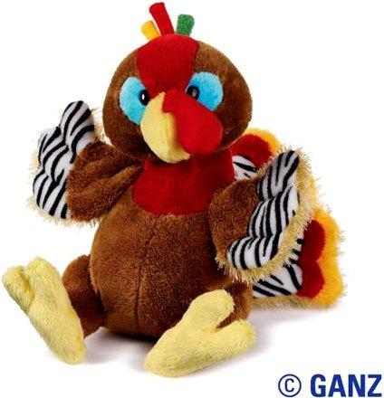 Amazon Com Webkinz Hm418 Thanksgiving Turkey Plush Animal Toys Games