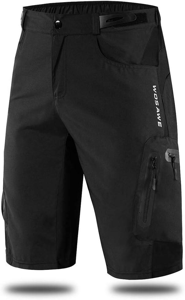 Sunbike Herren Radhose Fahrrad Fahrradhose MTB Atmungsaktive Hosen Shorts