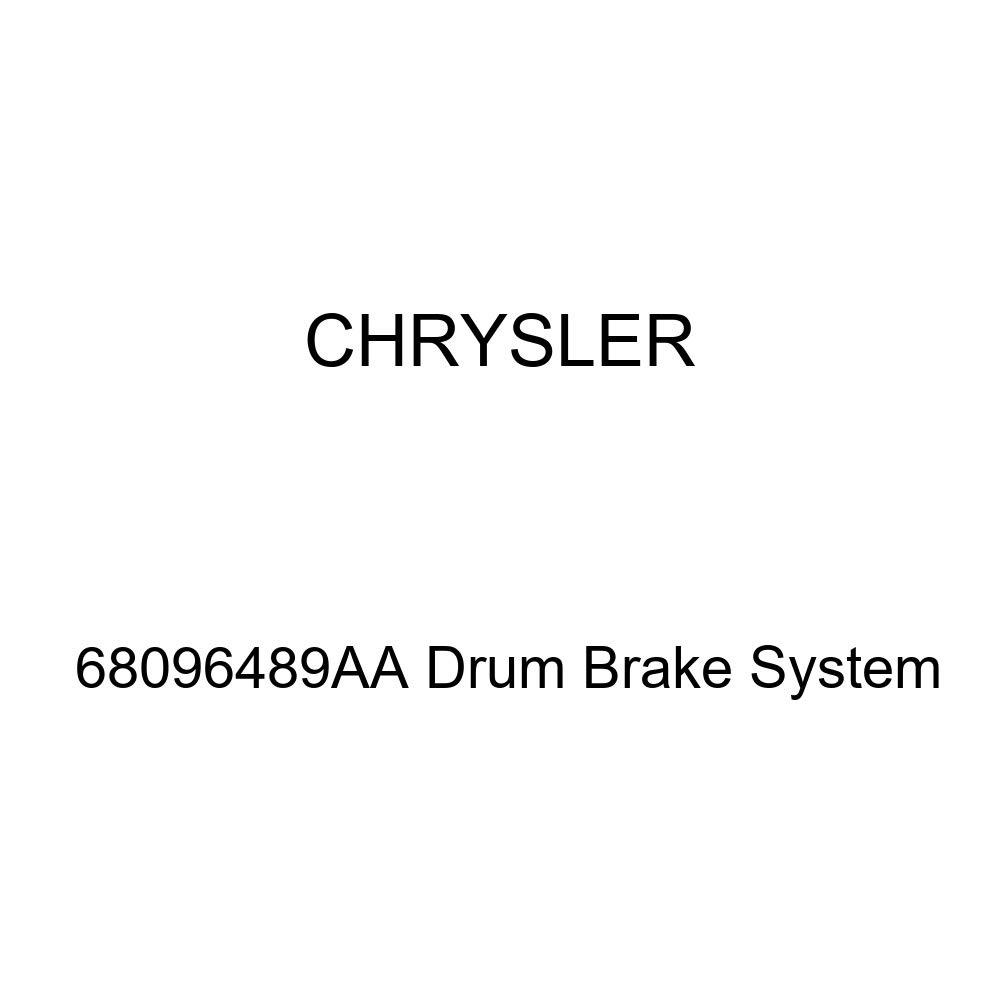 Genuine Chrysler 68096489AA Drum Brake System