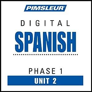 Spanish Phase 1, Unit 02 Audiobook