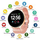 Smart Watch, Fitness Tracker with Heart Rate Monitor & Blood Pressure...