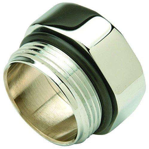 Zurn P6000-J10 Commercial Brass Ground Joint Control Stop Adaptor, Flush Valve Repair Part