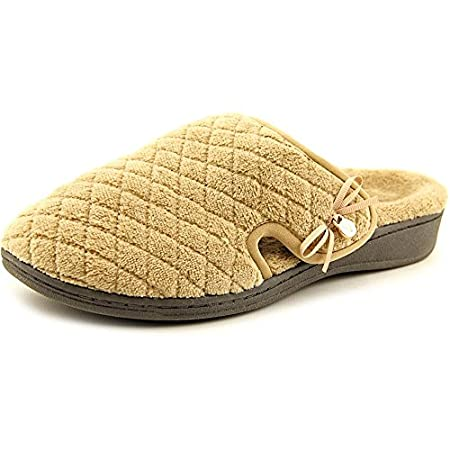 Vionic Adilyn Women Round Toe Canvas Slipper