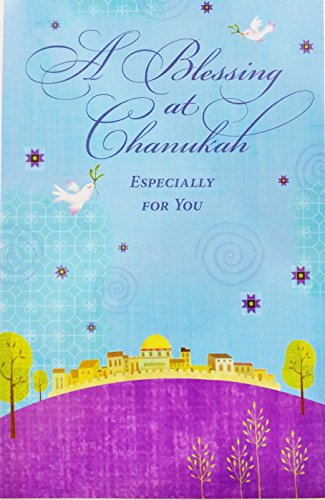 A Blessing at Chanukah - Especially for You Greeting Card -