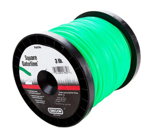 - Oregon 21-830 Gatorline Square String Trimmer Line .130-Inch Diameter 3-Pound Spool