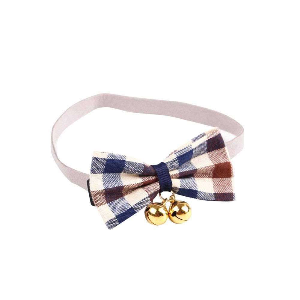 PET COLLAR HOME Adjustable Dog Collar Bow Pet Dog Tie Pet Bow Collars for Puppy Collar Grooming Accessories-Green S (Size   bluee M)