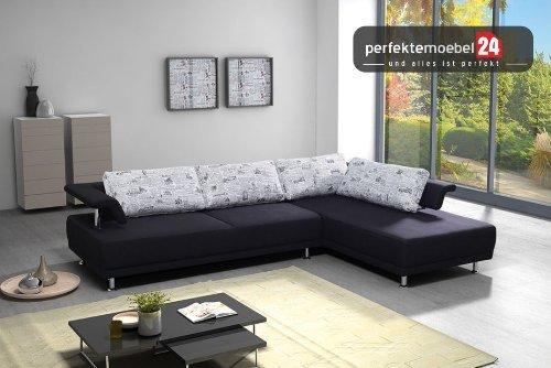 IMPERIA Couch Eckcouch Sofa Polster Ecke Wohnlandschaft große Farbauswahl kurze Lieferzeit!! (elefant)