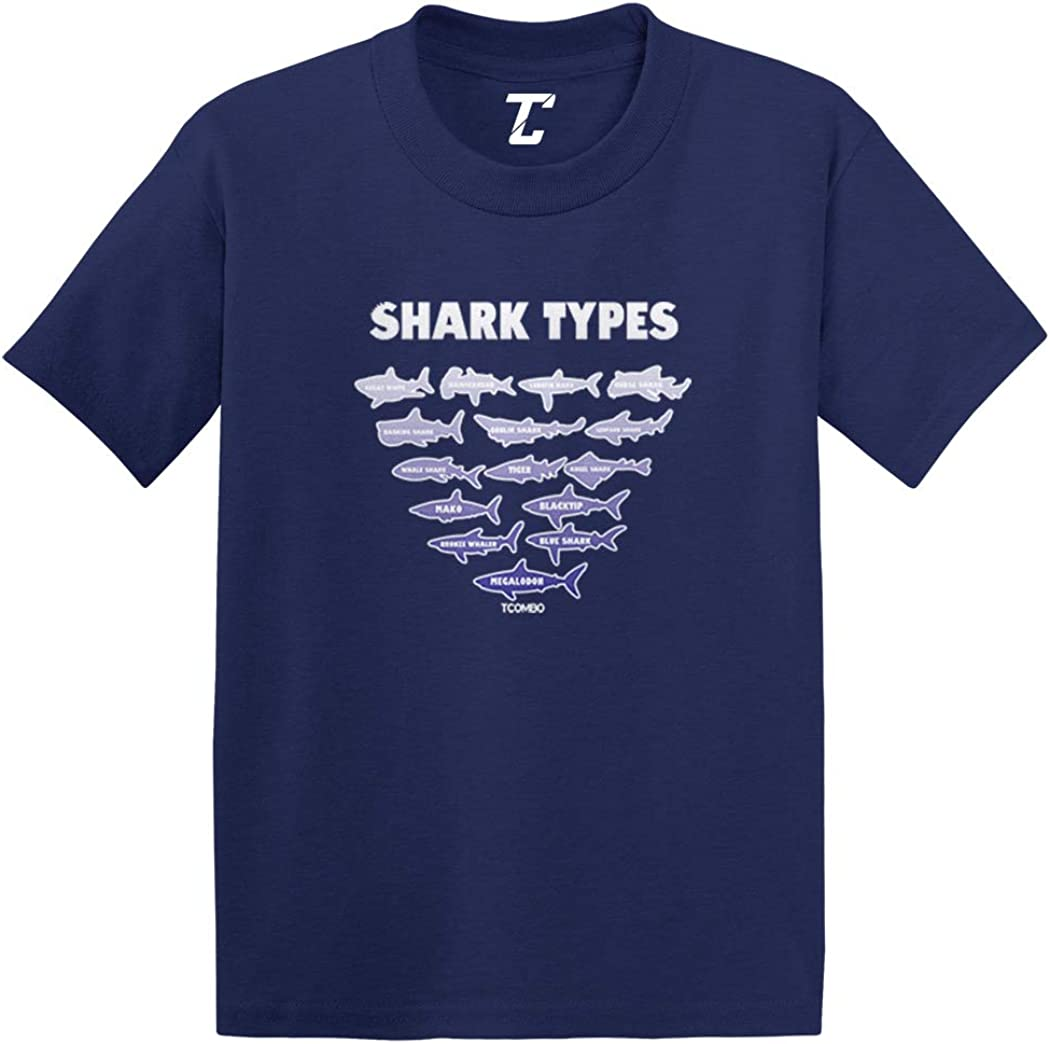 Shark Types - Great White Beach Infant/Toddler Cotton Jersey T-Shirt