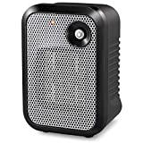 HOME-CHOICE 500 Watt Mini Personal Ceramic Space Heater Electric Portable Heater Quiet for Home Dorm Office Desktop with Safety Power Switch - Silver