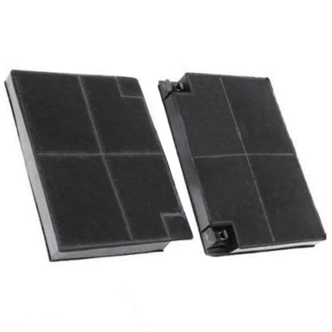 Spares2go Type EFF70 Charcoal Carbon Filter For Firenzi Cooker Hood Vent (193 x 135 x 20 mm, Pack Of 2 Filters)