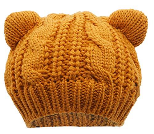 Winnie The Pooh Hat - Bellady Women's Hat Cat Ear Crochet