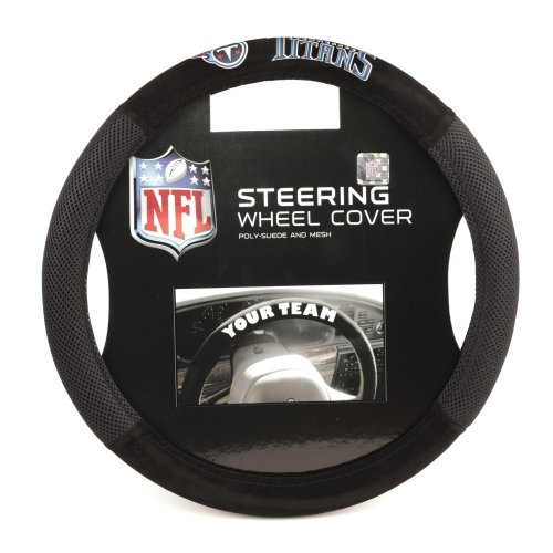 Fremont Die NFL Poly-Suede Steering Wheel Cover
