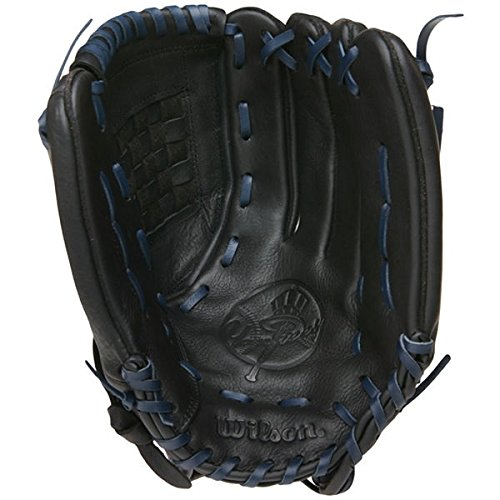 New York Yankees Baseball Glove - Black Leather 13