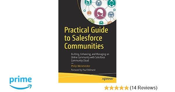 Amazon Com Practical Guide To Salesforce Communities Building