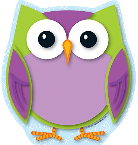 Carson Dellosa Colorful Owl Notepad (151065) for $<!--$3.00-->