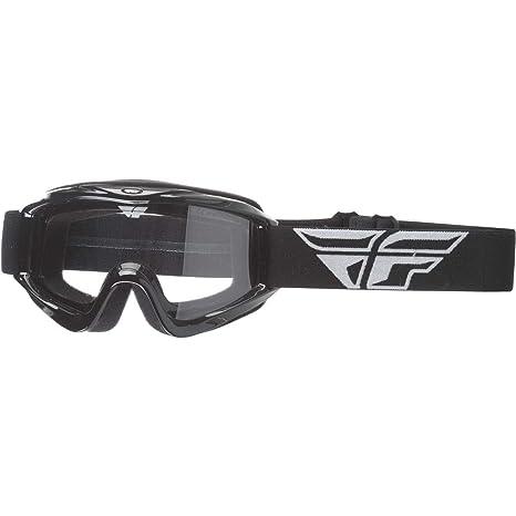 ad6d073e1b51 NEW Fly Racing MX Zone Black Orange Dirt Bike Chrome Tinted Motocross  Goggles