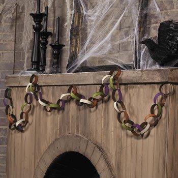 Halloween Chain Garland - Party Decorations & Garland]()