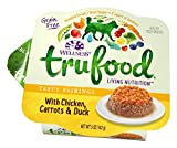 Wellness TruFood Tasty Pairings Natural Grain Free Wet Raw Dog Food, Chicken, Carrots & Duck, 5-Ounce Cup (Pack of 24)