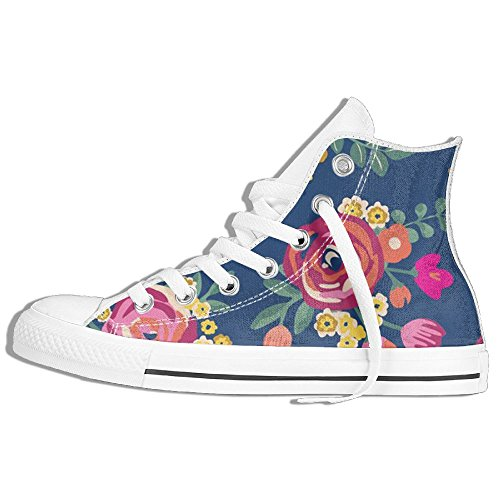 Party City Halloween Customes (Disaeq Flowers Party Unisex Fashion Canvas Sneaker Walking Sport Shoes)