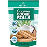 Festival Coconut Cookie Rolls, 3 Pack, 10.5oz