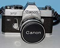 Canon FT QL 35mm Film Camera With 50mm f/1.8 Lens