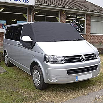 Just Kampers External Thermo Silver Screen Windscreen Cover Sunshade Compatable with T4 Transporter Campervan Van