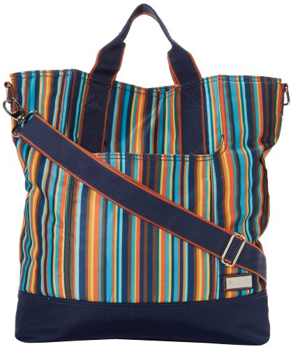 hadaki-nylon-french-market-totearabesque-stripesone-size